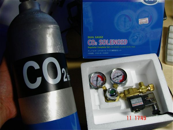 SALE: JBJ Solenoid/Regulator & 3 4L CO2 Tank - Sell off/Pasar Malam